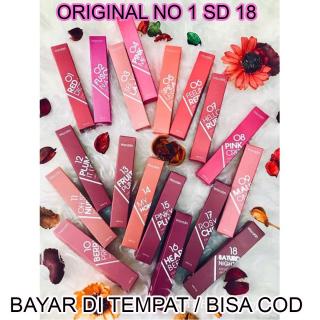 BAQO (DISCOND TERBESAR) ORIGINAL Wardah Lip Cream Exclusive Matte Cair Lipcream Original thumbnail