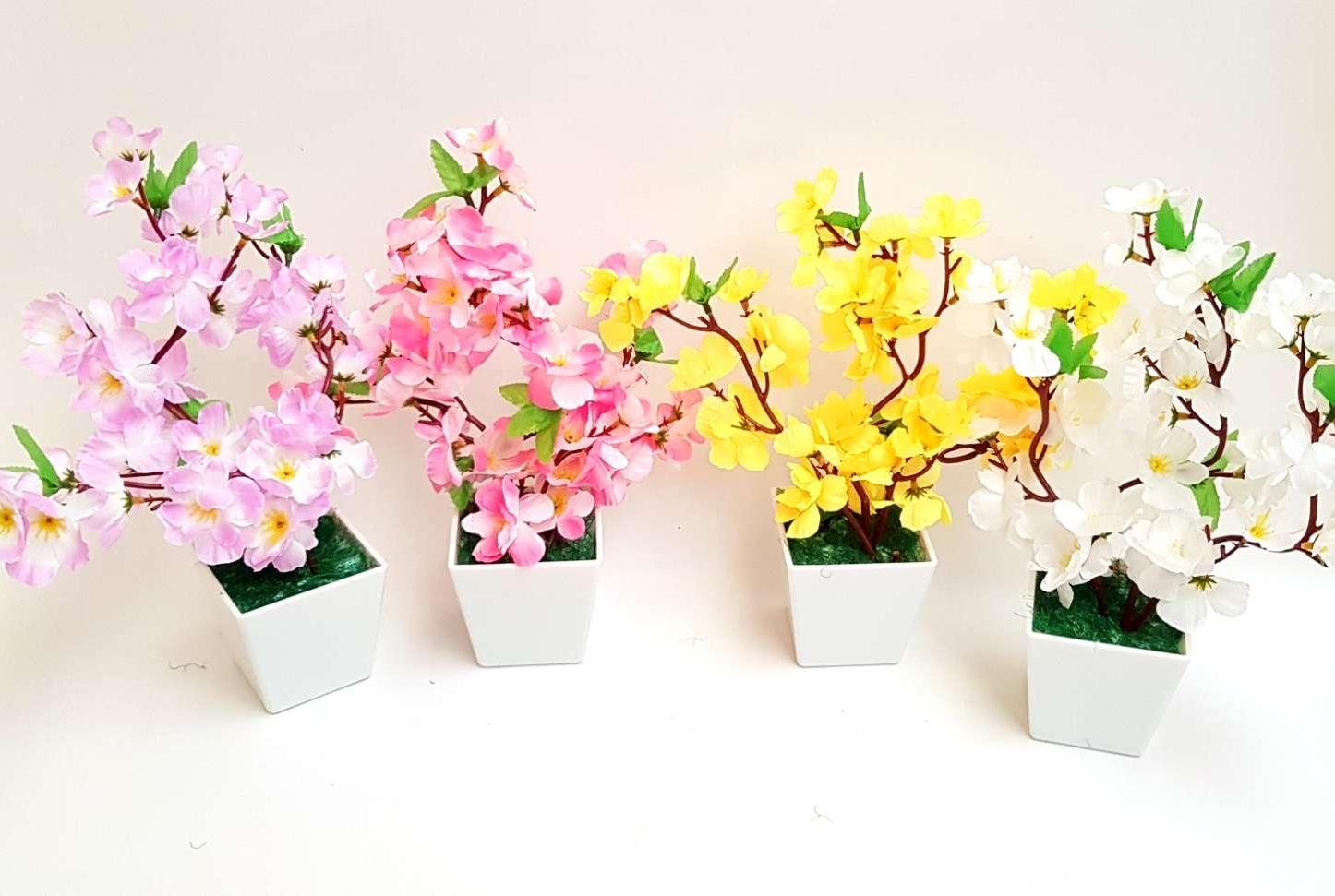 Indonesia. New Sakura dan Vas Kotak Bonsai Unik Dekorasi Meja bdf6e7e9e7
