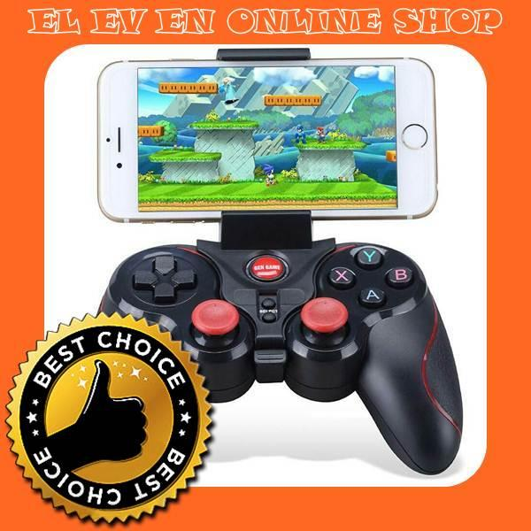 INDO Gamepad GEN GAME C8 S5 Deluxe Stick Stik Wireless Bluetooth Android HP Tablet TV Box Terios T3