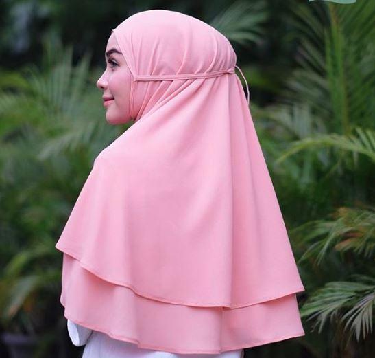 Cotton Bee Jilbab Instan Jilbab Kerudung Khimar Bella 2 Layer - Khimar Bergo Dua layer - Hijab Instan Khimar Bergo Termurah