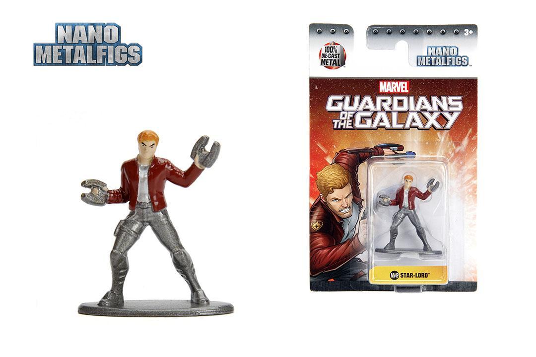 Jada Nano Metalfigs (1MV49) Marvel Guardian Of The Galaxy Star Lord Metal Figure