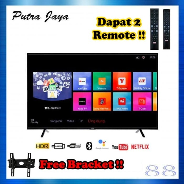 TCL L32S6800 LED TV 32 Inch Smart Android TV Netflix Youtube 32S6800