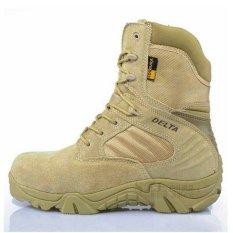 Top 10 Delta Sepatu Cordura Tactical Boots 8 Tan Gurun Online