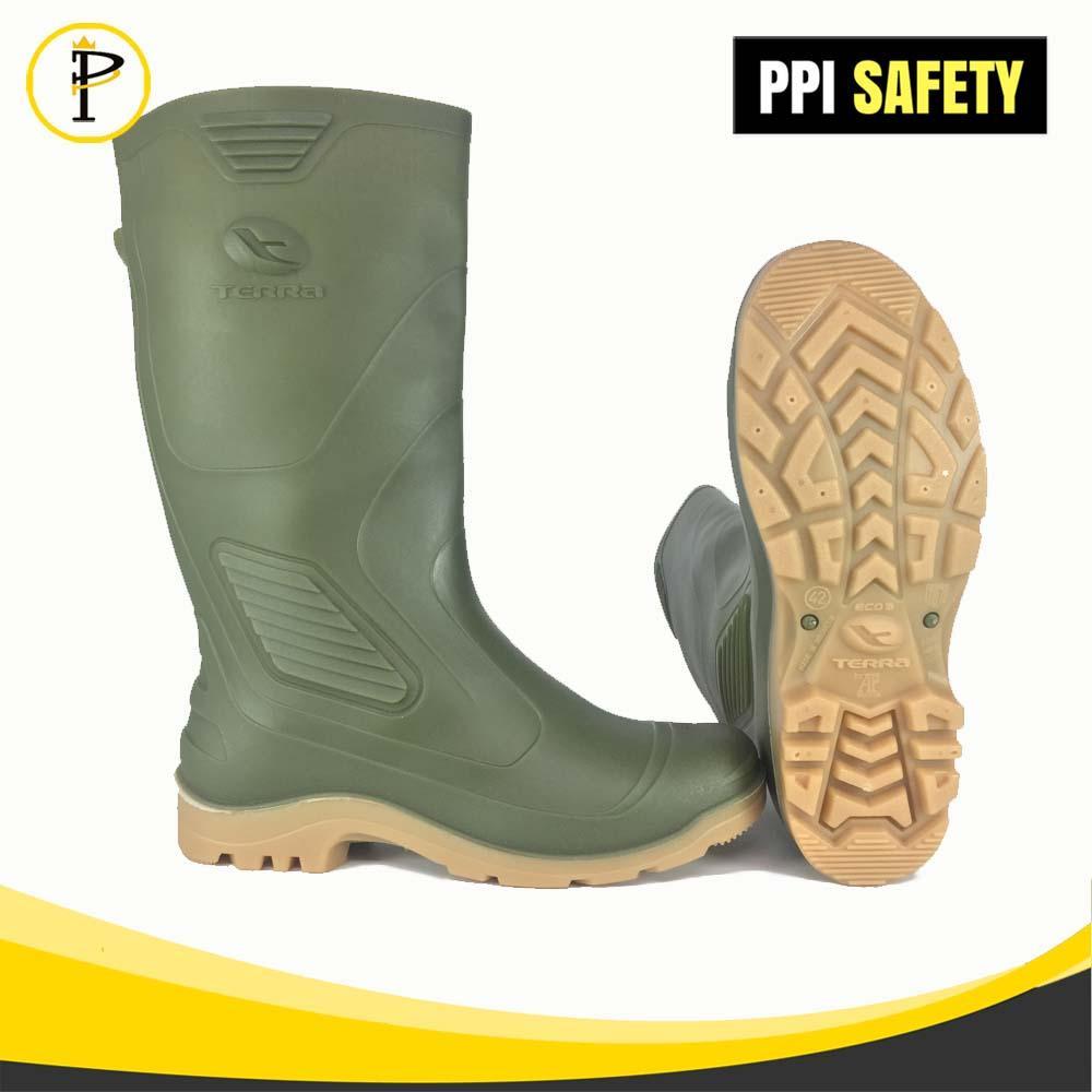 Sepatu Boots Merk AP Boots Terra Eco 3 Hijau