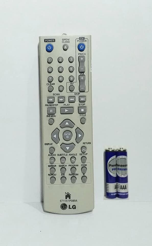 LG Remote DVD Player 6711R1P089A - Putih
