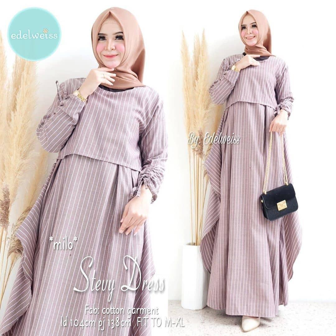 New Fashion Wanita Baju Gamis Stevy Dress Wanita Terbaru 2020 Busana Muslim Wanita Gamis Wanita Baju Gamis Wanita Abg Dan Dewasa Gaun Pesta Baju Dress Pesta Gamis Kekinian Lazada Indonesia