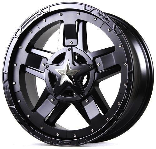 Velg Racing Mobil Pajero Fortuner Ford Ranger Strada, HSRRASTA 3 TYPE2 Ring 20