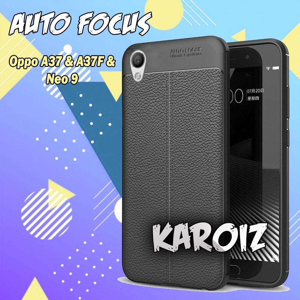 Case Auto Focus Oppo A37 / A37F / Neo 9 Leather Experience Softcase Jelly Silicon