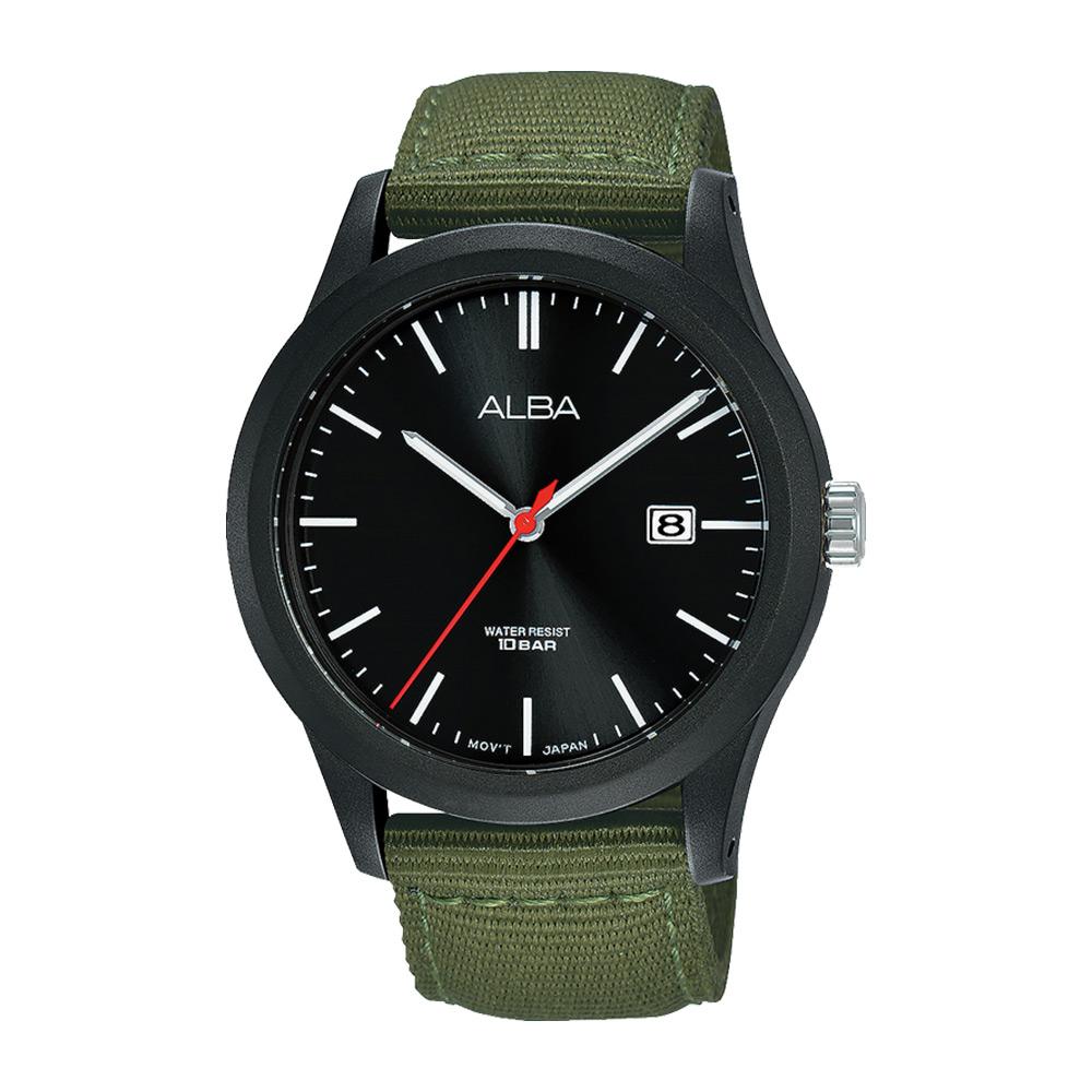 Jam Tangan Analog Pria original Alba Active AS9K23