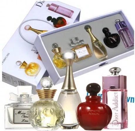 Parfume Miniatur Dior 5 Set By Vicvers.