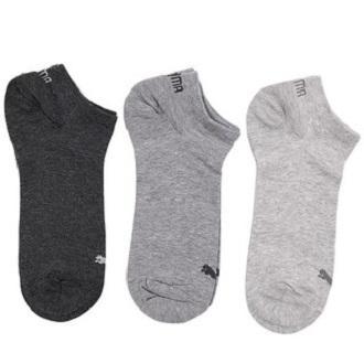 Puma kaos kaki olahraga Puma Unisex Sneaker Plain 3 Pasang size 43 sd 46 -  90684506 80510add2c