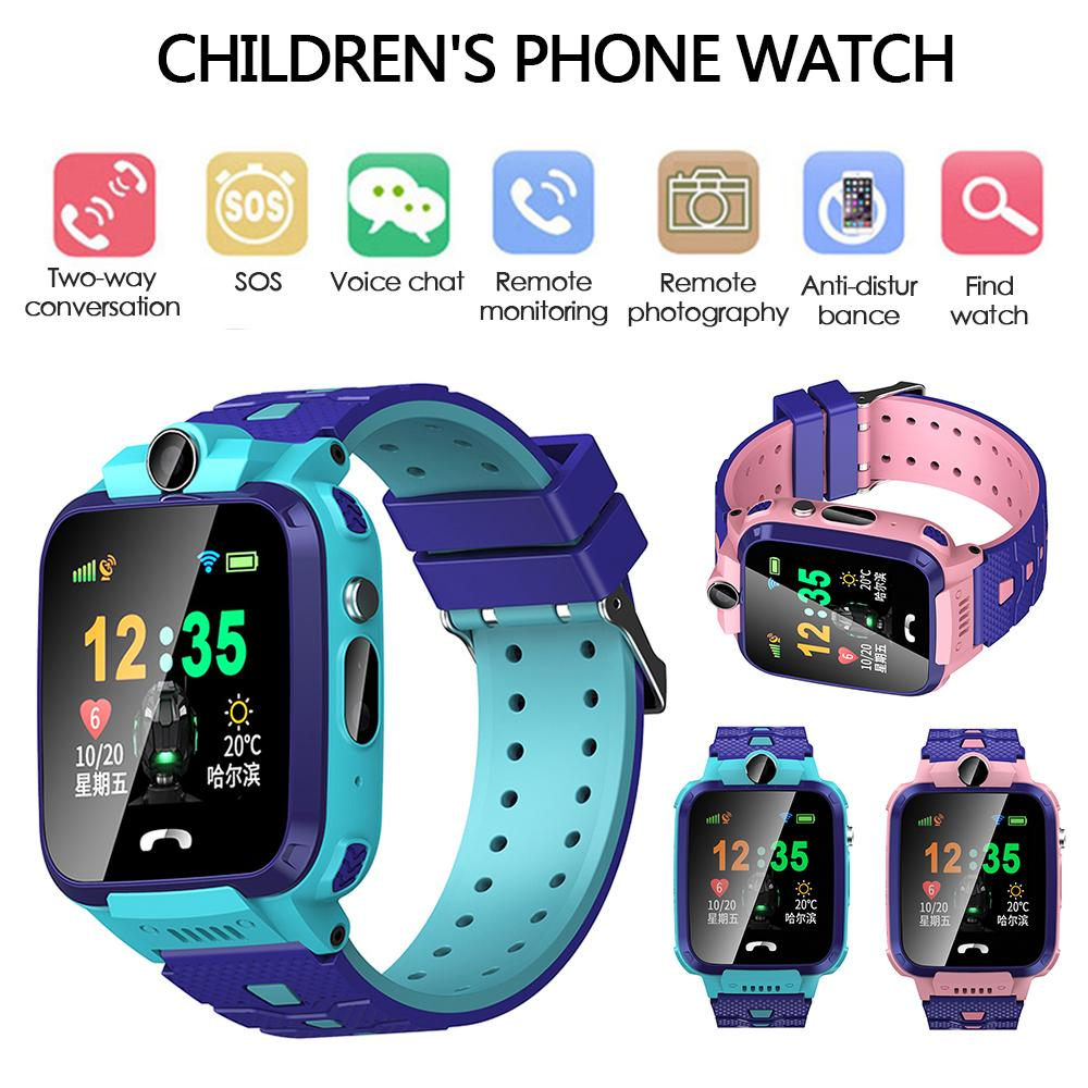 Watches S12 Children Smart Watch Lbs Tracker Ip67 Waterproof Fitness Sport Watch Intelligent Photo Taking Step Safety Child Phone Watch