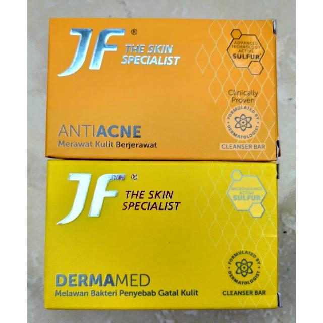 Sabun Mandi Jf Sulfur Batangan Jf The Skin Specialist Soap Sabun Jerawat Jf Sulfur Acne Protect Green Sensation Sabun Antiseptic Sabun Murah Bagus Lazada Indonesia