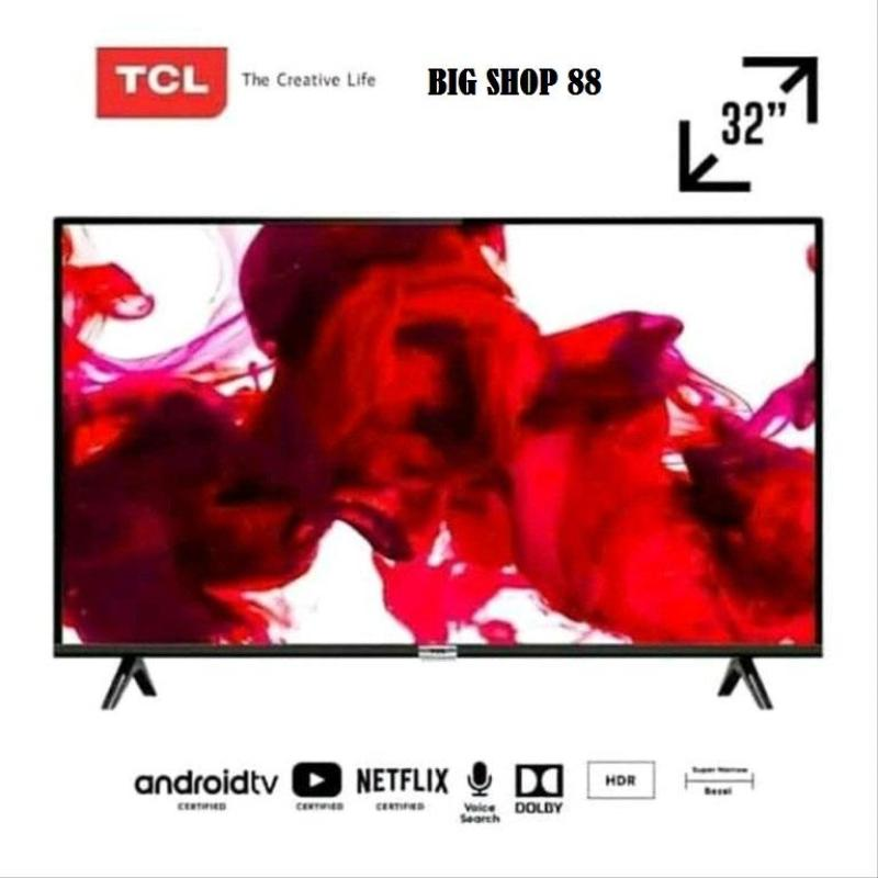 SMART TV ANDROID TV TCL LED 32 INCH WITH AL AND DOLBY SOUND GARANSI RESMI