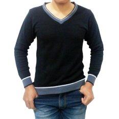 Spesifikasi Diahfashion Difash V Man Knit Hitam Online