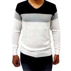 Spesifikasi Diahfashion Difash White Vino Man Knit Multicolor Diahfashion