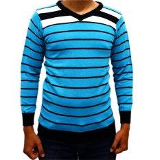 Beli Difash Man Knit Biru Online