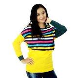 Tips Beli Difash Laviza Woman Knit Kuning
