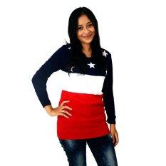 Toko Difash Little Star Woman Knit Diahfashion Online