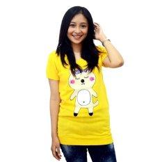 Beli Difash P*Ssy Cat Yellow Woman Knit Kuning Diahfashion