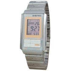 Digitec DG3022T-D Jam Tangan Wanita Stainless Steel Silver