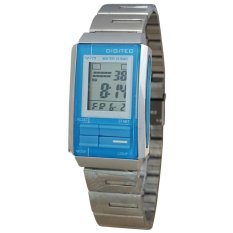 Digitec DG3022T-D Jam Tangan Wanita Stainless Steel Silver Biru