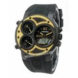 Spesifikasi Digitec Dg3027 Jam Tangan Pria Karet Hitam List Kuning Baru