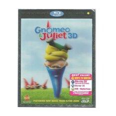Disney / Buena Vista Gnomeo & Juliet 3D Blu-ray