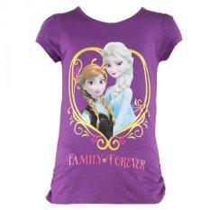 Disney Frozen T-Shirt Family Forever Ungu