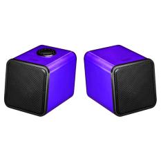 Spek Divoom Iris 02 Speaker Laptop Portabel Ungu Divoom