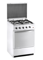 Domo Kompor Oven - Freestanding - DG 5405 SW - Putih - 4 Tungku -Khusus JADETABEK