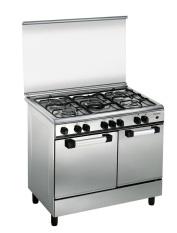 Domo Kompor Oven - Freestanding - DG 9506 - Stainless 5 Tungku -Khusus JADETABEK