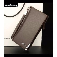Dompet IMPOR Baellerry W002 Fashion Long Panjang Baelerry Cowo - COKLAT