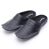 Diskon Dr Kevin Sepatu Sandal Bustong 1627 Hitam Sepatu Sandal Pantofel Pria Sandal Pria Slop