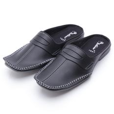 Kualitas Dr Kevin Sepatu Sandal Bustong 1627 Hitam Sepatu Sandal Pantofel Pria Sandal Pria Slop Dr Kevin