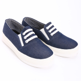 Toko Dr Kevin Sepatu Wanita 43140 Navy Sneaker Wanita Online Terpercaya