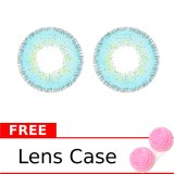 Review Terbaik Dreamcolor1 Softlens Nobluk Blue Gratis Lens Case