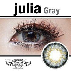 Harga Dreamcolor1 Softlens Uv Protection Julia Grey Gratis Lens Case Fullset Murah