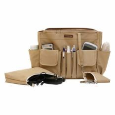 D'renbellony Bag Organizer Active MM (Khaki) / Tas Organizer / Bag in Bag / Handbag Organizer / HBO Active