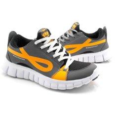 Review Dumper Softrun Sneaker Sepatu Abu Abu Terbaru