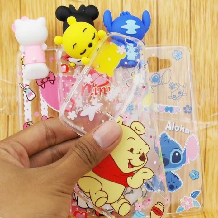 CASE VIVO Y53 / Y55 / Y55s 360 SOFTCASE boneka Harga murah terjankau kwalitas mall boneka  FULL TEMPERED GLASS