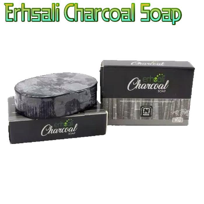 Erhsali Charcoal Soap Nasa Menjaga Kulit Dari Kotoran By Indah Maulid Store.