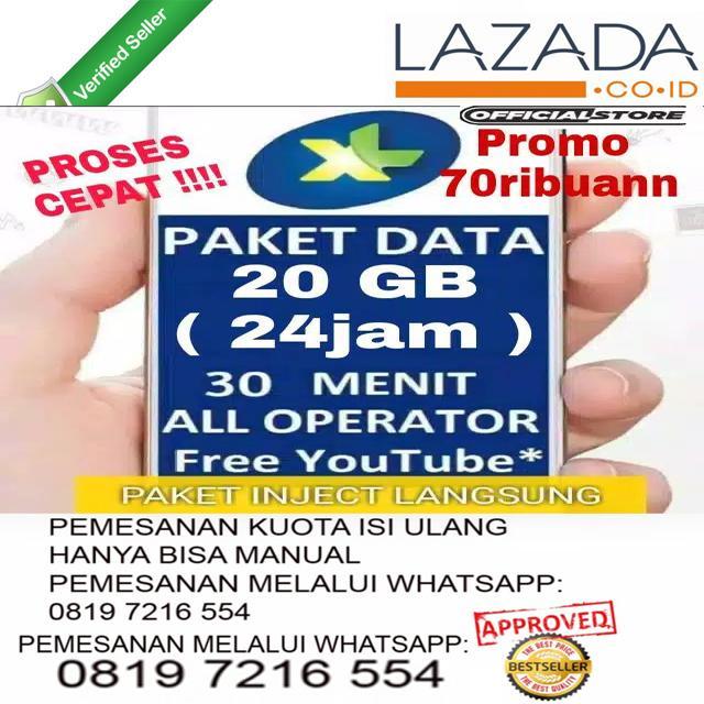 paket data xl xtra combo promo 20gb internet 24jam full paket internet murah kartu internet xl data murah