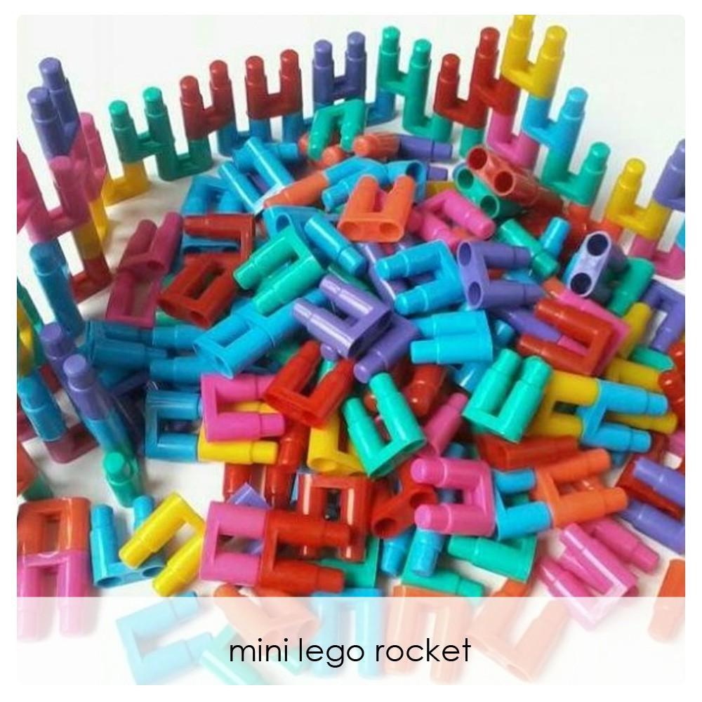 Terbaru LEGO ROCKET lego roket jadul mainan jaman dulu 40 gram