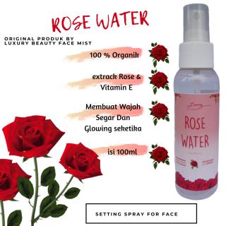 AIR MAWAR 100% ORGANIK - Rose Water Setting Spray Face Mist - 100ml by LUXURY thumbnail