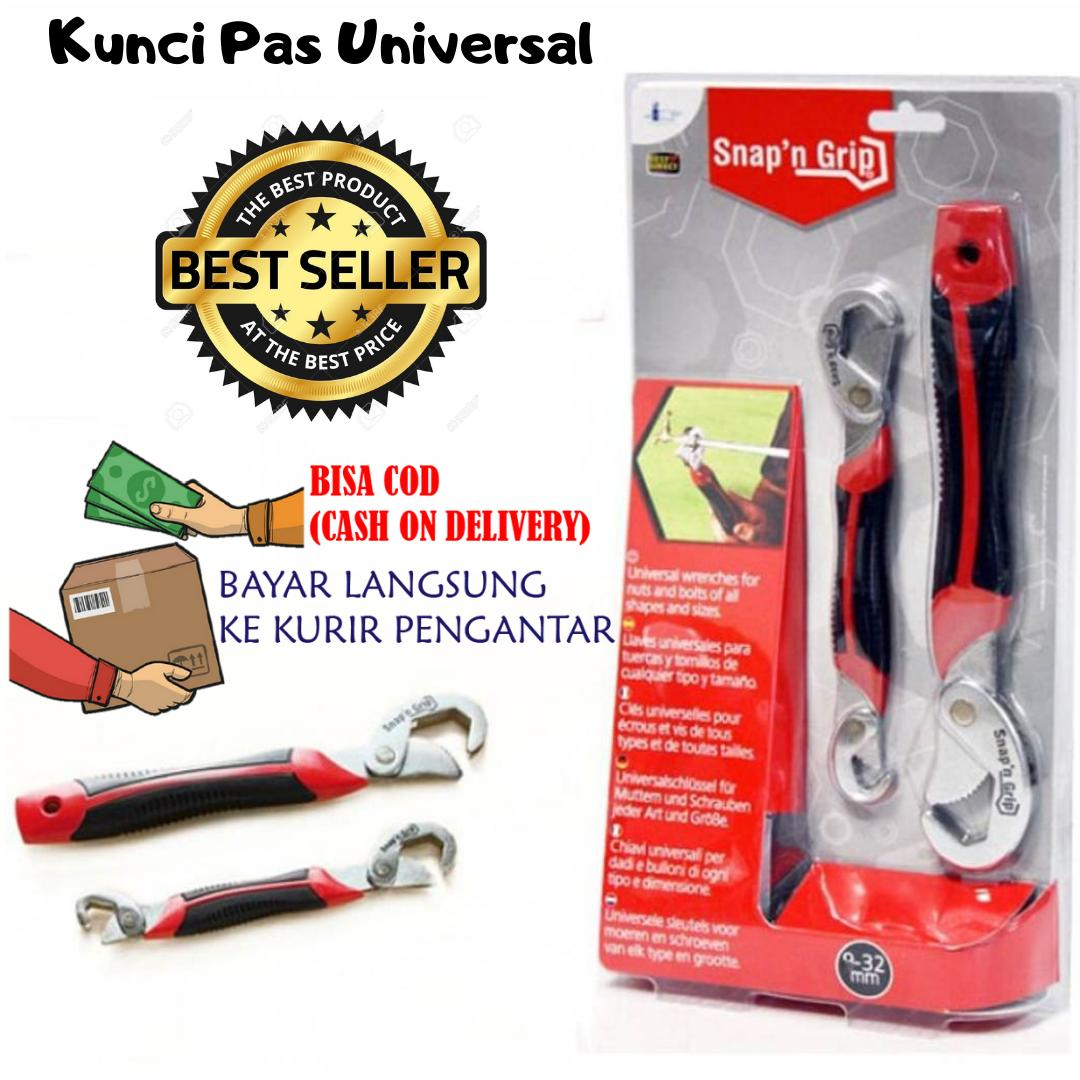 Kunci Pas Universal Praktis Inovative / Kunci Inggris / Tools Set All in One