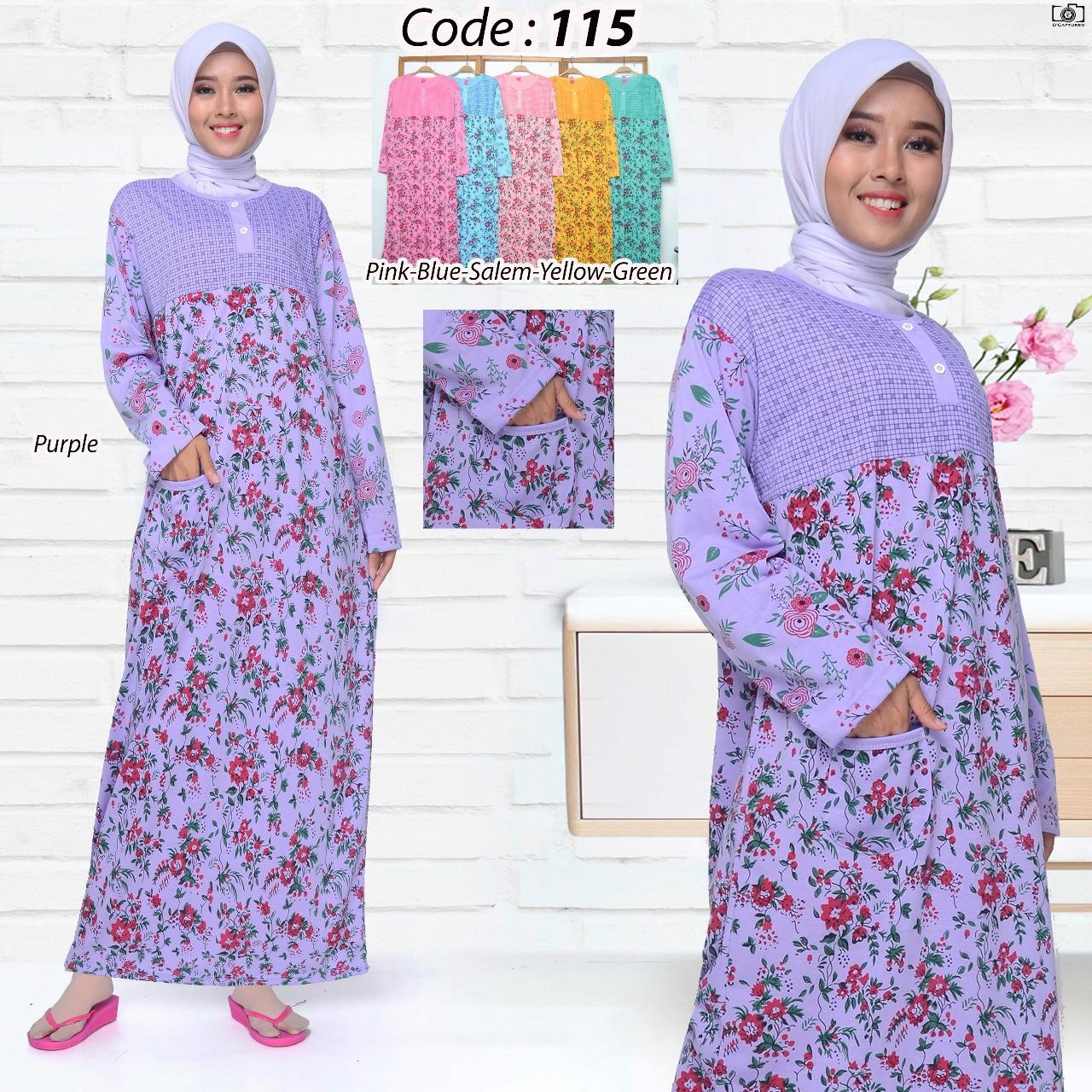 Baju tidur wanita Daster Gamis 115 all size / Piyama wanita Daster Gamis murah COD