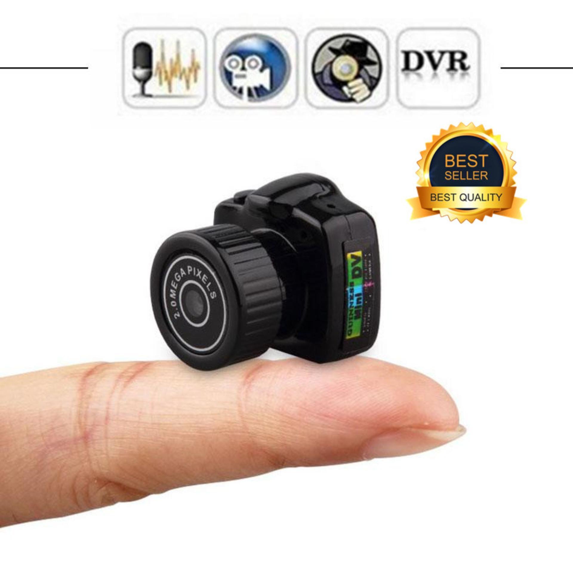 Lgds Kamera Perekam Pengintai Kecil Mini Hd Penuh, Perekam Video Dvr Kamera Web Untuk Keamanan By Legendseller.