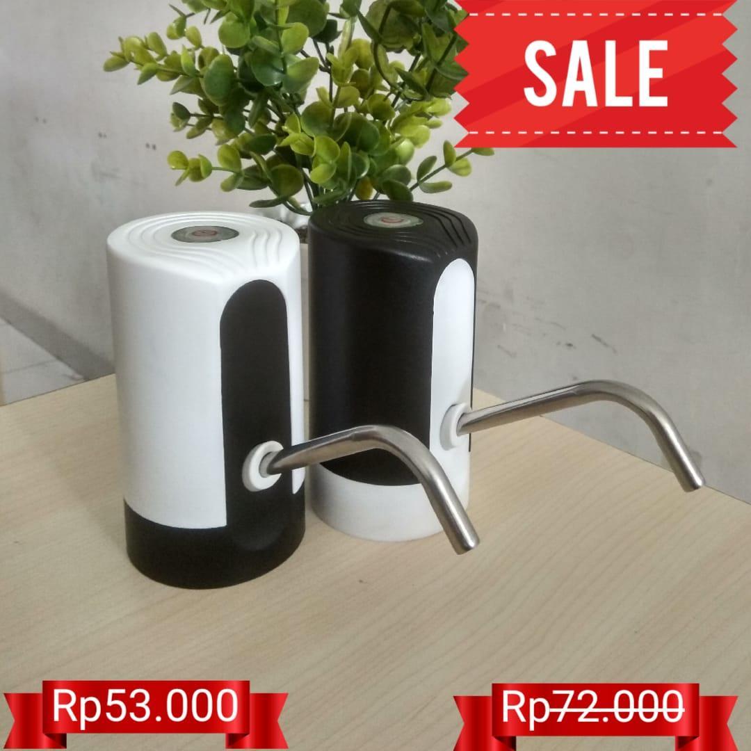 Pompa Galon Air Minum Elektrik Water Dispenser Smart Pumping Wireless By Icase.