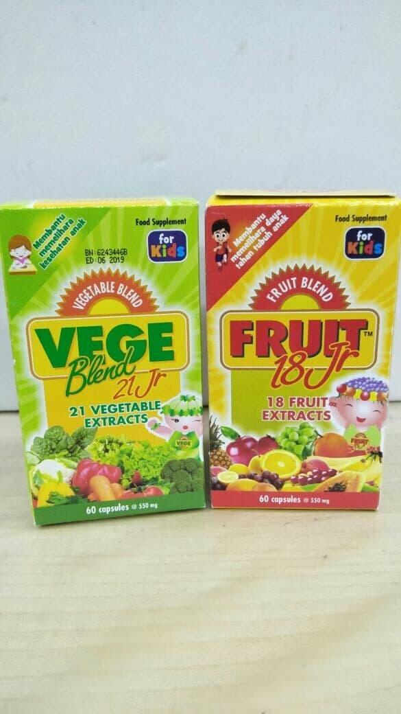 vegeblend 21 Junior isi 60 plus fruit 18 Junior isi 60